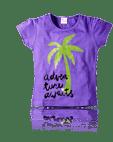 Tree Print Tee For Girls