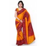 Pearl Fashion Bandhani Cotton saree