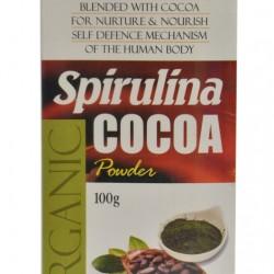 Organic Spirulina Cocoa Powder
