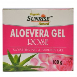 Organic Aloevera Gel Rose