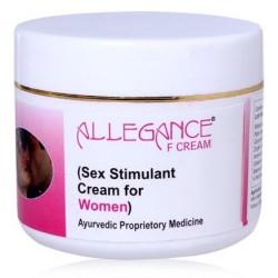 Allegance F Sex Stimulant and Libido Enhancer cream for Female 1