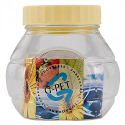G-PET Round Container 250 ml Cut Matka