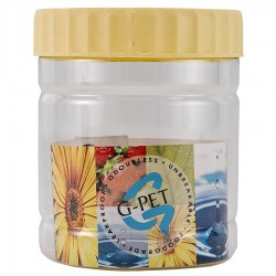 G-PET Round Container 300 ml