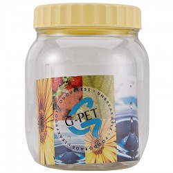 G-PET Round Container 500 ml