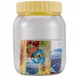 G-PET Round Container 750 ml