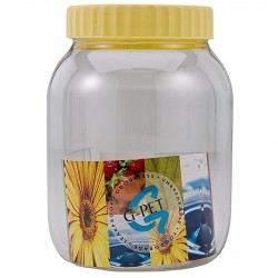 G-PET Round Container 1000 ml