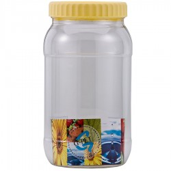 G-PET Round Container 2000 ml