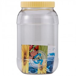 G-PET Round Container 4000 ml