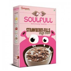 Soulfull Strawberry Fills - Ragi Bites Large