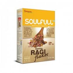 Soulfull Ragi Flakes-Banana 300gm
