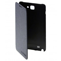 Flip Cover For Samsung Galaxy Note (N7000)_Black
