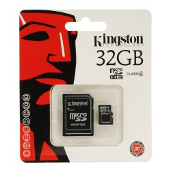 Kingston 32GB  MicroSD Memory Card