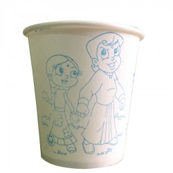 Paper Cups 210 Ml(sc) 100 Pieces Per Pack
