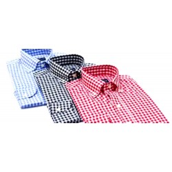 Men's Formal Wear  Comfort Check Shirt 1