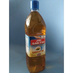Gingely(Sesame) Oil- 100% Virgin Cold Pressed- Wooden crushed