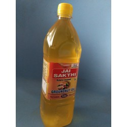 Groundnut Oil- 100% Virgin Cold Pressed Oil