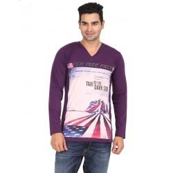 Lyril V Neck Full Sleeve Printed T-shirts 10 PCS Pack 2