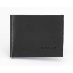 Standard Billfold Wallet - Black