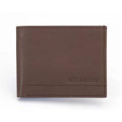 Standard Billfold Wallet - Brown