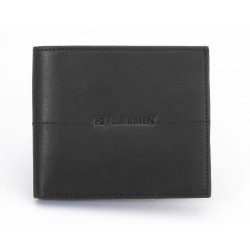 Billfold Wallet with Pass Case - Black