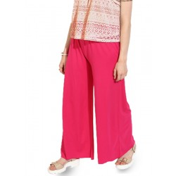 Cotton Solids Regular Fit Palazzo For Women 1