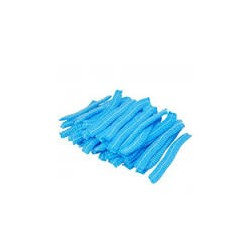 Bouffant caps/frill caps Blue Colour Non Wowen Pack of 100