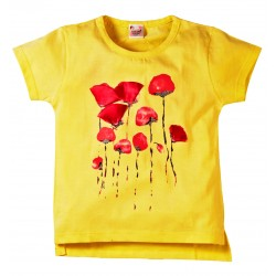 Young Ones Flower Print Top for Girls Size age 2 to 6 yrs 2