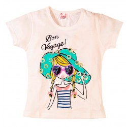 Young Ones Girl Print with Sequin Tee sizes age 2 to 6 years