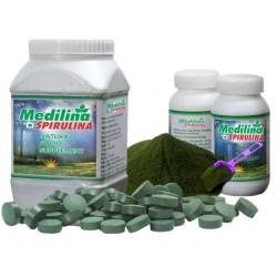 Medilina Spirulina Tablets(120) 3