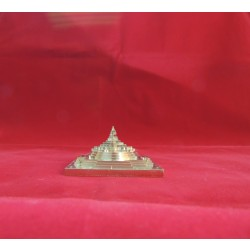 ENERGIZED GOLD PLATED 3D SHREE SRI YANTRA MANDALA  1.5 Inch 3