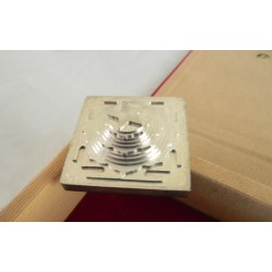 ACCURATE AND PRECISE 3D SILVER PLATED MAHA MRITYUNJAYA YANTRA 4