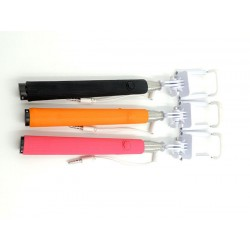 Compact Pocket Size Selifie Stick cable Take Pole for iPhone and Android 2