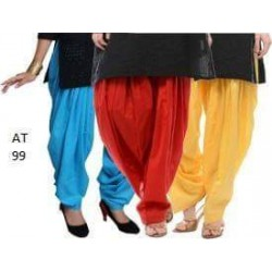 Trendy girls Plain Patiala 4