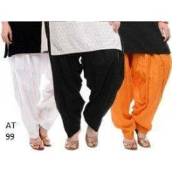 Trendy girls Plain Patiala 2