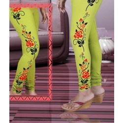 Trendy girls Full print leggings 1