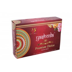Yashoda Premium Choice Agarbatti 16-17 Incense Sticks 22 gms a Pack 1