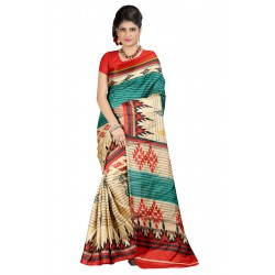 Pearl Fashion Printed Bhagalpuri Saree