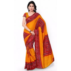 Pearl Fashion Bandhani Cotton saree