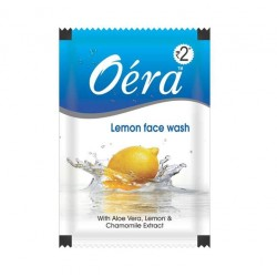 Oera 5ml lemon facewash (Set of 96 pouch)