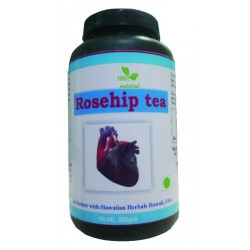 Hawaiian herbal rosehip tea