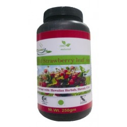 Hawaiian herbal wild strawberry leaf tea