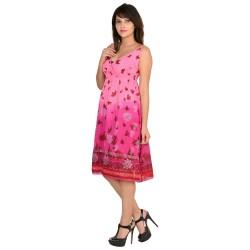 Wardtrobe Beautiful stylish Sleeveless cotton Long Dress 2
