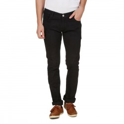 HALTUNG MENS SLIM FIT JEANS BLACK-34