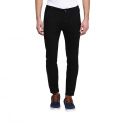 HALTUNG MENS SLIM FIT JEANS CR BLACK-32
