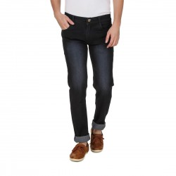 HALTUNG MENS SLIM FIT JEANS CRBN-32