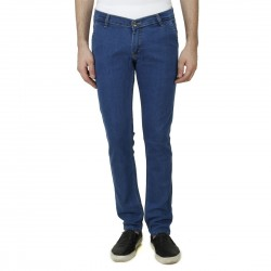 HALTUNG MENS SLIM FIT JEANS CRMW DBLUE-28