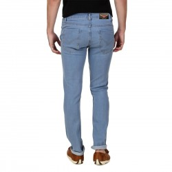 HALTUNG MENS SLIM FIT JEANS MW DBLUE-30 4