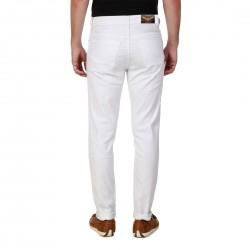 HALTUNG MENS SLIM FIT JEANS WHITE-30 4