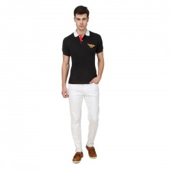HALTUNG MENS SLIM FIT JEANS WHITE-34 2