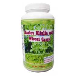 Hawaiian herbal barley alfalfa with wheat grass powder